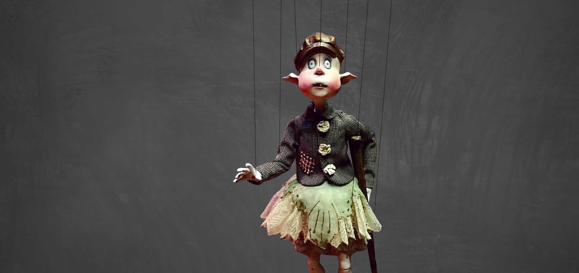 Schnitzel marionette